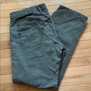 Men's Diesel jeans, unique green, size 40